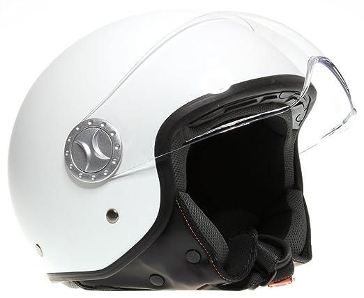 ROKX - Casque Jet Blanc Mat L
