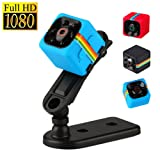 SQ11 HD 1080P Mini Camera Night Vision Motion Detection Multifunction Car DVR Infrared Voice Video Recorder (Blue)