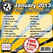All Star Karaoke January 2013 Pop and Country Hits A (ASK-1301A)