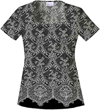 Skechers Chantilly Lace Square Neck Top 3X Chantilly Lace