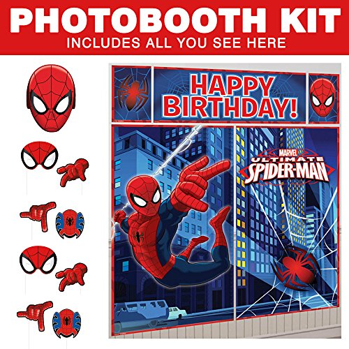 Spiderman Photo Booth Kit