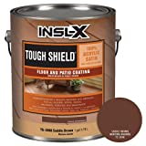 INSL-X TS399809A-01 Tough Shield Floor and Patio Coating Paint, 1 Gallon, Saddle Brown (Color: Saddle Brown, Tamaño: 1 Gallon)