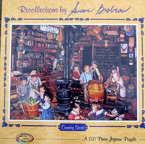 750pc. Recollections by Susan Brabeau Puzzle-Country Store