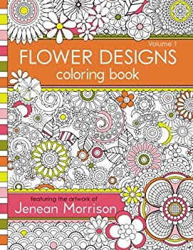 Cheapest Copy Of Flower Designs Coloring Book Volume 1