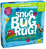 Peaceable Kingdom / Snug as a Bug in a Rug Award Winning Preschool Skills Builder Game