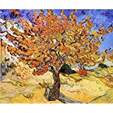 Tallenge Old Masters Collection - Mulberry Tree By Vincent Van Gogh - A3 Size Premium Quality Rolled Poster