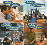 img - for 4 Volumes of Safety First! - Safety At Home; Safety Around Strangers; Safety on the Playground; Safety on the Internet book / textbook / text book