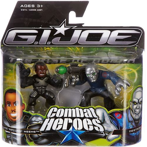 G.I. Joe The Rise of Cobra Combat Heroes 2-Pack Wallace Ripcord Weems and Destro - 1