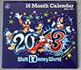 Walt Disney World Park 2012 - 2013 16 Month Calendar NEW