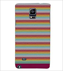 SAMSUNG GALAXY NOTE 4 PATTERN Designer Back Cover Case By PRINTSWAG