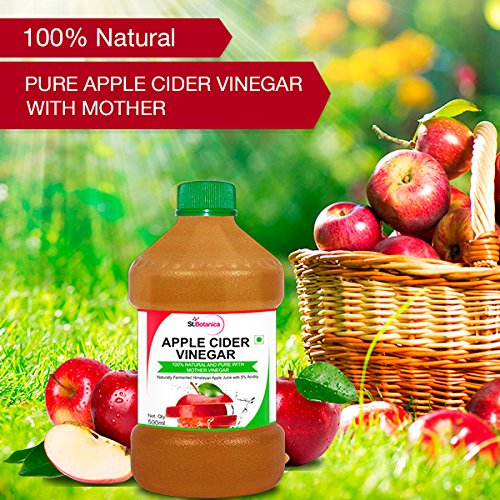 Get 37% Off on StBotanica Apple Cider Vinegar – 500ml Pack Of 2 – 100% Natural and Pure – Amazon