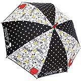 Peanuts Snoopy Folding Umbrella Monotone Pattern 53cm 90243