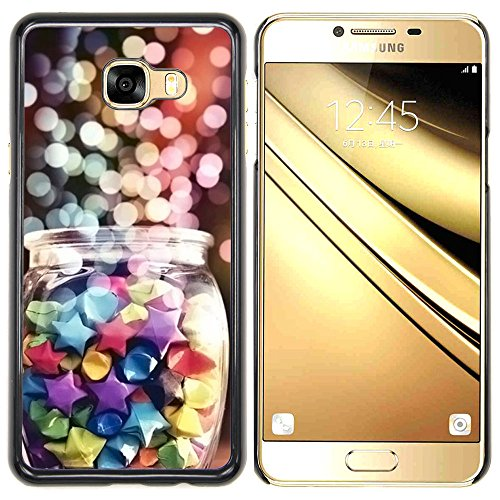 A-type-Colorful-Printed-Hard-Protective-Back-Case-Cover-Shell-Skin-for-Samsung-C7-Lights-Christmas-Night-Candy-Sweets