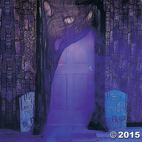 [Halloween Party Decoration Supersize Gray Cotton Cloth for Spooky Haunted House Door] (Movie Character Costume Ideas Homemade)