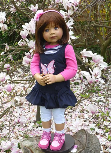 Masterpiece Dolls Rory By Monika Levenig Brunette (Best Friends Forever) Collectible Doll 34 In Tall