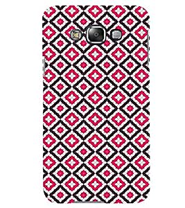 Fuson Premium Pink Diamonds Printed Hard Plastic Back Case Cover for Samsung Galaxy Grand 3 G7200