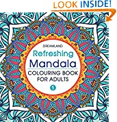 #3: Refreshing Mandala - Colouring Book for Adults Book 1