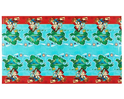 Jake and the Never Land Pirates Plastic Table Cover, 54 in x 96 in, Party Supplies - 1