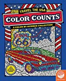 Color Counts: Travel the USA Color by Number Book