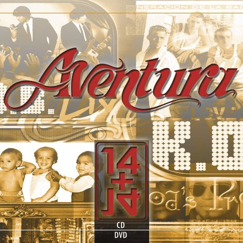 Aventura - 14 Plus 14 (CD/DVD) - Zortam Music