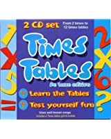 Times Tables [2CD Set With Booklet]