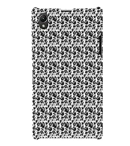 EPICCASE black roses Mobile Back Case Cover For Sony Xperia Z1 (Designer Case)