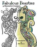 Fabulous Beasties: Eccentric Creatures Coloring Book