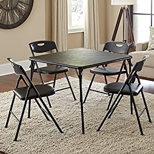 Cosco 5 Piece Folding Table and Chair Set by AMERIWOOD INDUSTRIES, INC