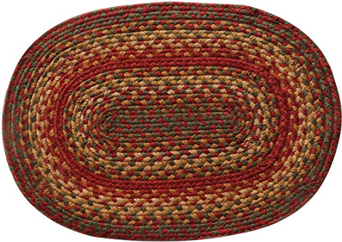 Homespice Cider Barn Braided Placemat [Set of 4]