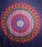 Handicrunch Hippie Mandala tapisserie, Hippie tapisseries , tapisseries mural...