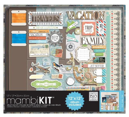Scrapbooking Kit, Our Travels