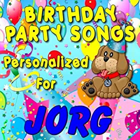 Amazon.com: Happy Birthday to Jorg (Gorg, Gorge, Jorge