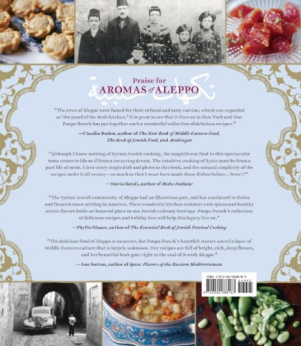 Aromas of aleppo the legendary cuisine of syrian jews for A treasury of persian cuisine