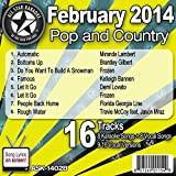 All Star Karaoke February 2014 Pop and Country Hits B (ASK-1402B)