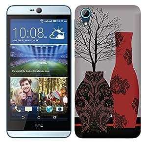 TrilMil Printed Designer Mobile Case Back Cover For HTC Desire 826