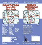 img - for Wheeling WV / Weirton WV / Steubenville OH / Northern WV, WV Street Map book / textbook / text book