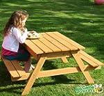 Garden Games Sandpit Picnic Table - 2...