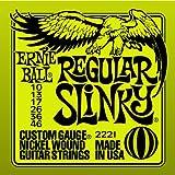 1 set of Ernie Ball Regular Slinky electric Guitar strings