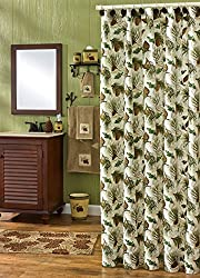 Park Designs Walk in the Woods Shower Curtain, 72 by 72