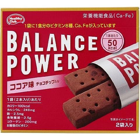 バランスパワー ココア味 2袋(4本入)×10個