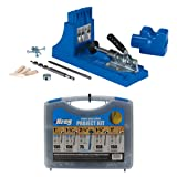 Kreg Jig K4 Pocket Hole System with Pocket-Hole Screw Kit in 5 Sizes