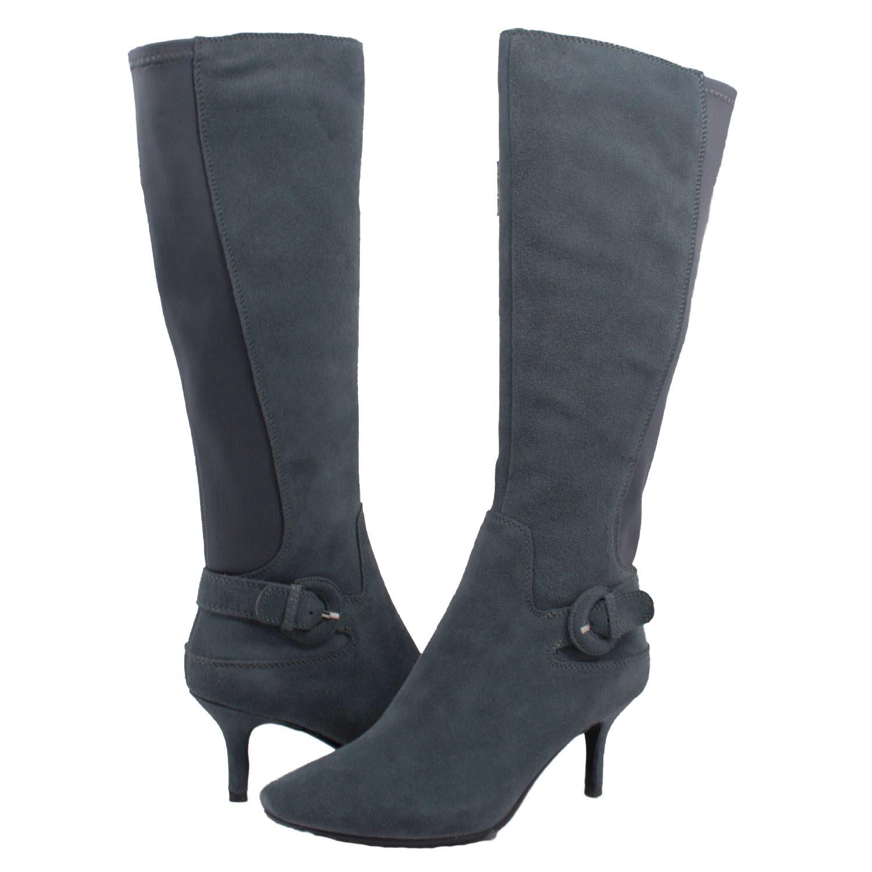 narrow calf leather boots rachael edwards