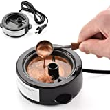 Sealing Wax Melting Furnace, Wax Seal Warmer, Wax Melting Furnace Tool for Melting Wax Seal Sticks, Sealing Wax Beads (Electric Wax Melting Furnace) (Tamaño: Electric Wax Melting Furnace)