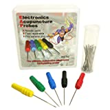AESwave Authentic Piercing Back Pinning Probes Needle Field Repairable (Set of 5 with replaceable pins and screws)