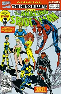 The Amazing Spider-Man Annual #26: Fortune and Steel (The Hero Killers) by David Michelinie and Scott McDaniel