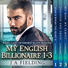 My English Billionaire 1 - 3: BWWM Bundles Series (       UNABRIDGED) by J. A. Fielding, BWWM Romance dot com Narrated by Stacey Pearson