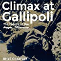 Climax at Gallipoli: The Failure of the August Offensive Audiobook by Rhys Crawley Narrated by Fred Humberstone