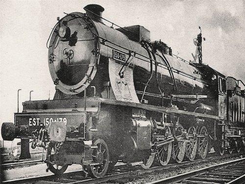 VINTAGE PHOTO TRANSPORT TRAIN ENGINE LOCOMOTIVE RAILWAY FRANCE PRINT CC2415 (Vintage Train Engine compare prices)