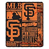 MLB San Francisco Giants Strength Printed Fleece Throw, 50-inch by 60-inch