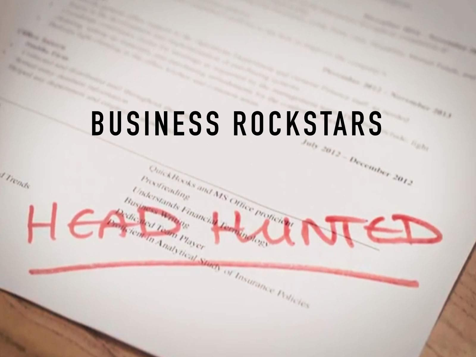 Head Hunted on Amazon Prime Instant Video UK